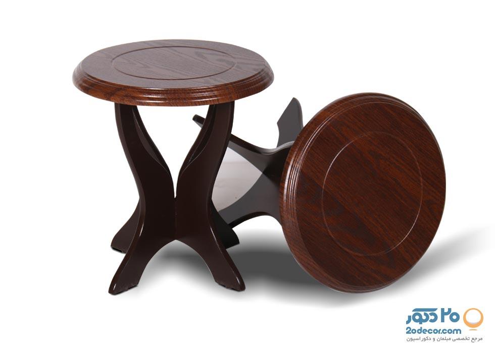 میز عسلی کایزن مدل نگین