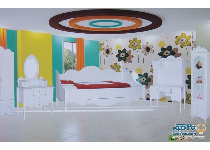 سرویس خواب کودک رومینا مدل آرامیس