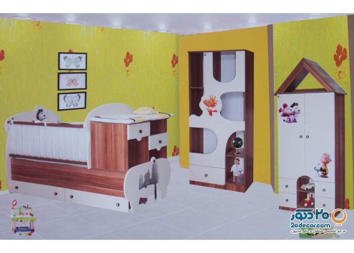 سرویس خواب کودک رومینا مدل اسنوپی