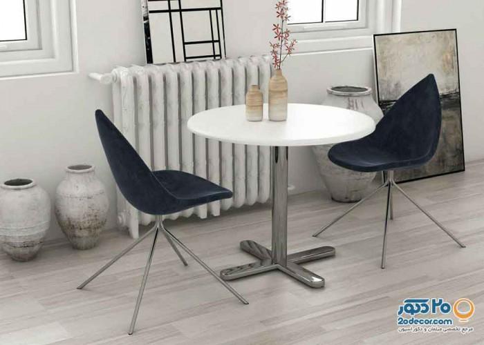 صندلی چند منظوره استیل هامون مدل دیبا پایه فلزی