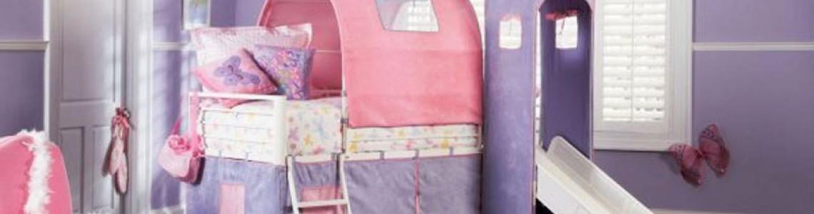 اتاق خواب شیک و زیبا برای کودک + تصاویر
