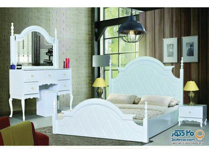 سرویس خواب طاها مدل لوزی