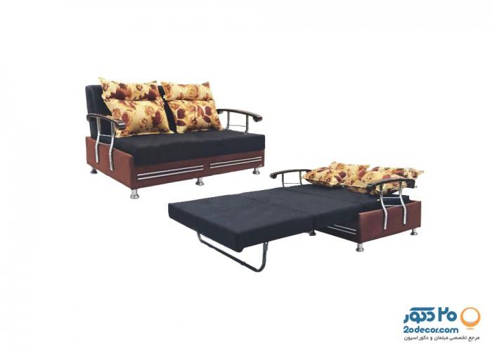 مبل تختخواب شو مدل پترو