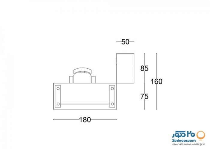 میز مدیریت نوین آرا  مدل M900